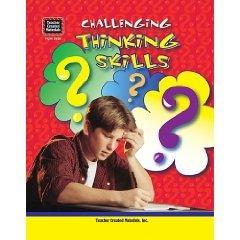Thinking Skills Challenging Teacher Created Materials TCM 3625 Workbook