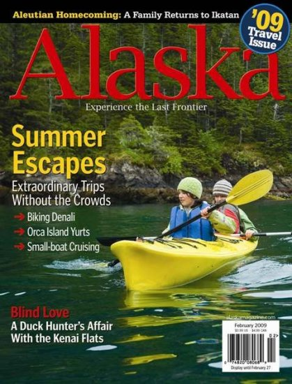 Alaska Magazine - February 2009 Travel Issue - Bike Denali