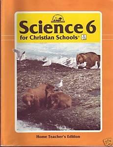 Science 6 for Christian Schools BJU Home Teacher Edition Bob Jones Book