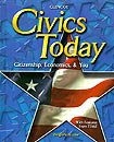 GLENCOE Civics Today Daily Focus Skills Transparencies Binder NEW