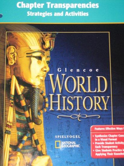 Glencoe World History Chapter Transparencies Strategies and Activities