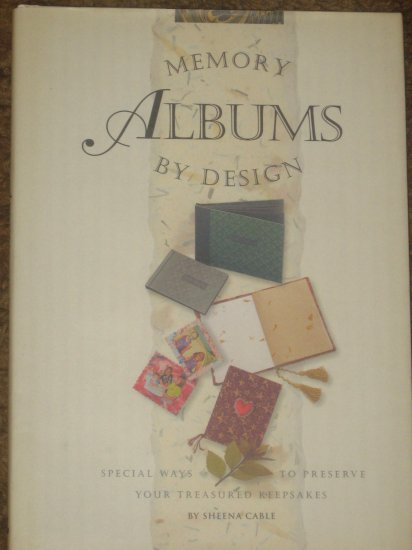 Memory Albums By Design Scrapbooking Book Cable HB