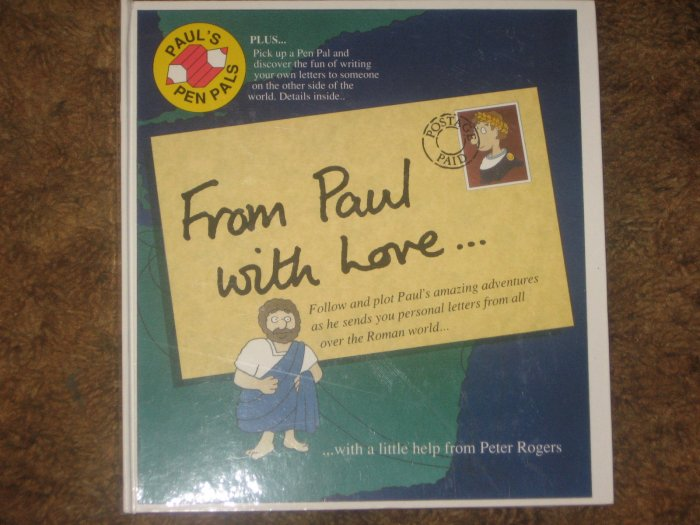 From Paul With Love Christian OOP Childrens HB Book