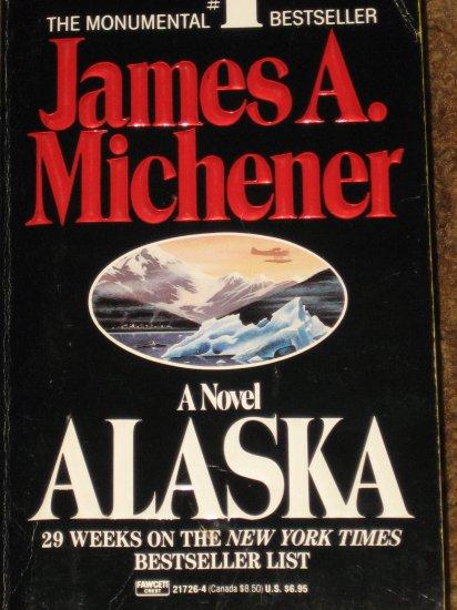 Alaska A Novel James A. Michener PB Book