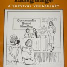 Government Language - A Survival Vocabulary - Teacher Book