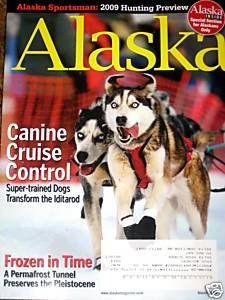 Alaska Magazine March 2009 Hunting Preview Iditarod with Bonus