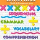 Extra Help Math Language Arts Instructional Fair Grade 4 Book
