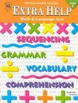 Extra Help Math Language Arts Instructional Fair Grade 4 Book