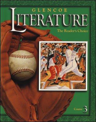 Glencoe Literature: The Reader's Choice Course 3 Textbook