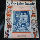 VINTAGE Sheet Music 1932 At The Baby Parade Eddie Cantor
