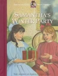 Samantha's Winter Party American Girl Short Story Book