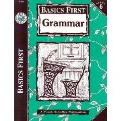 Basics First Grammar Frank Schaffer FS-30045 Book Gr 6