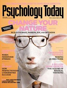 Psychology Today Magazine April 2008 Back Issue