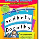 Making Names Hands-On Spelling Phonics Lessons Book