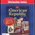 Glencoe The American Republic Since 1877 Daily Lecture Discussion Notes Book