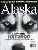 Alaska Magazine March 2010 Mines Iditarod Race Back Issue