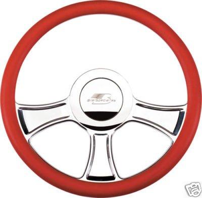 New Billet Specialties Steering wheel complete package