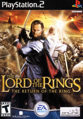 The Lord of the Rings: The Return of the King (PlayStation 2, PS2)