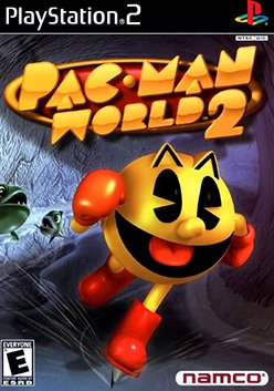 Pac-Man World 2 (PlayStation 2, PS2) (Never Played)