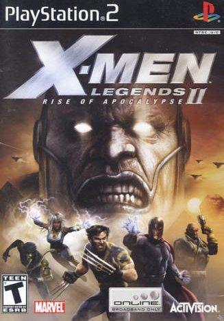 X-Men Legends II: Rise of Apocalypse (PlayStation 2, PS2)