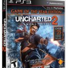 Uncharted 2: Among Thieves (Game of the Year Edition) (PlayStation 3, PS3) (Brand New, Sealed)