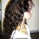 Deep Wavy,  Color  #1b with #4 Highlights
