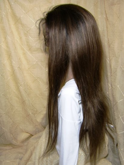 """20"""" Silky Straight, Color #2 / 4 Two Tone"""
