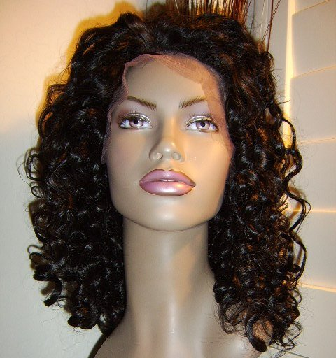 """20"""", #1,  BIG CURLY, SYNTHETIC LACE FRONT,"""