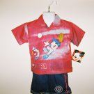 Infant Boys Disney Mickey Mouse 2pc Short Set size 24M