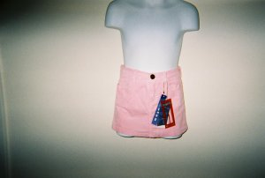Girls Pink Corduroy Skirts Size 4