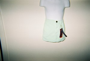 Girls Mint Green Corduroy Skirts Size 6X