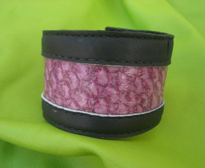 Pink Purple Perch Cuff