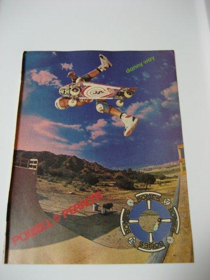 Original Powel Peralta Advertisement Rare Vintage Danny Way