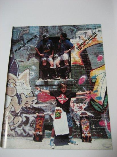 Original Powell Peralta SkateBoard Advertisement Rare Vintage