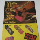 Original Life's A Beach SkateBoard Advertisement Rare Vintage Jeff Phillips