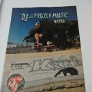 Original Santa Cruz SkateBoard Advertisement Rare Vintage Natas