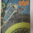 Original Santa Cruz SkateBoard Advertisement Rare Vintage Billy Ruff