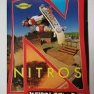 Original Nitros SkateBoard Advertisement Rare Vintage Kevin Staab