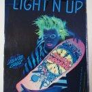Original Santa Cruz SkateBoard Advertisement Rare Vintage Claus Grabke