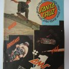 Original Santa Cruz SkateBoard Advertisement Rare Vintage