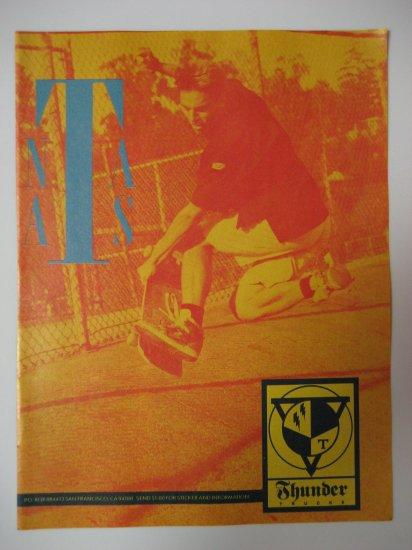 Original Thunder Trucks SkateBoard Advertisement Rare Vintage Natas