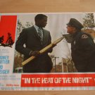 Original In The Heat Of The Night Lobby Card