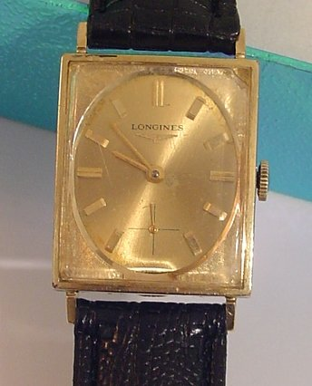 Vintage 10 Gold Filled Longines Men Watch 17 JEWEL