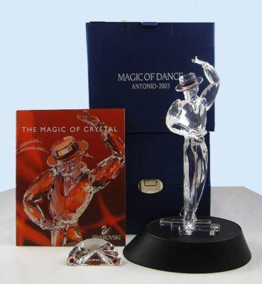 SWAROVSKI CRYSTAL 2003 ANTONIO FIGURINE MAGIC OF DANCE