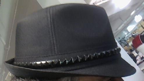 Black Fedora Unisex One Size Hat