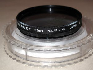 CPC Phase 2 52mm polarizing filter