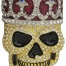 Smiling Iced out Skull