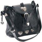 Embassy Italian Stone Design Genuine Leather Shoulder Bag