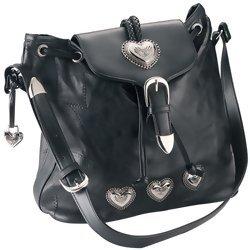 Embassy Italian Stone Design Genuine Leather Shoulder Bag