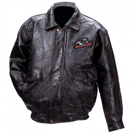 Leather Bull Rider Jacket